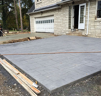 Stamped Concrete Patio in St. Louis, MO