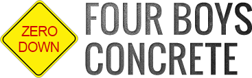 Four Boys Concrete, Logo